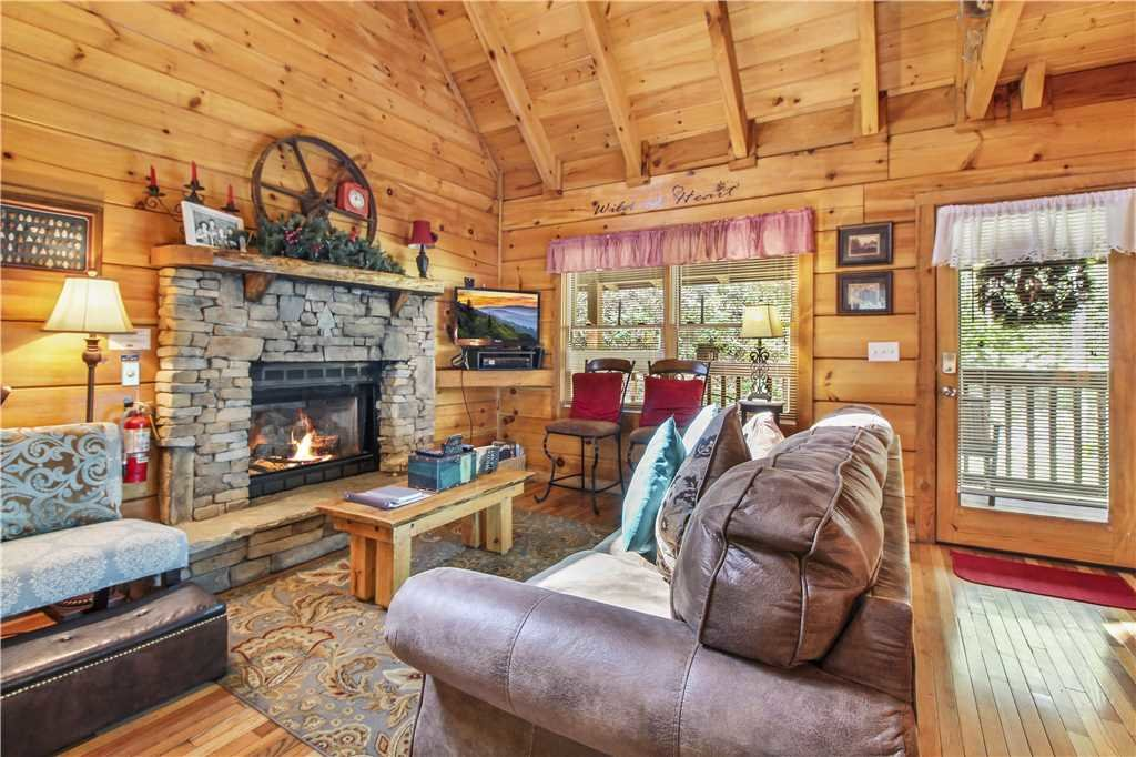 Photo of a Sevierville Cabin named Wild At Heart - This is the first photo in the set.