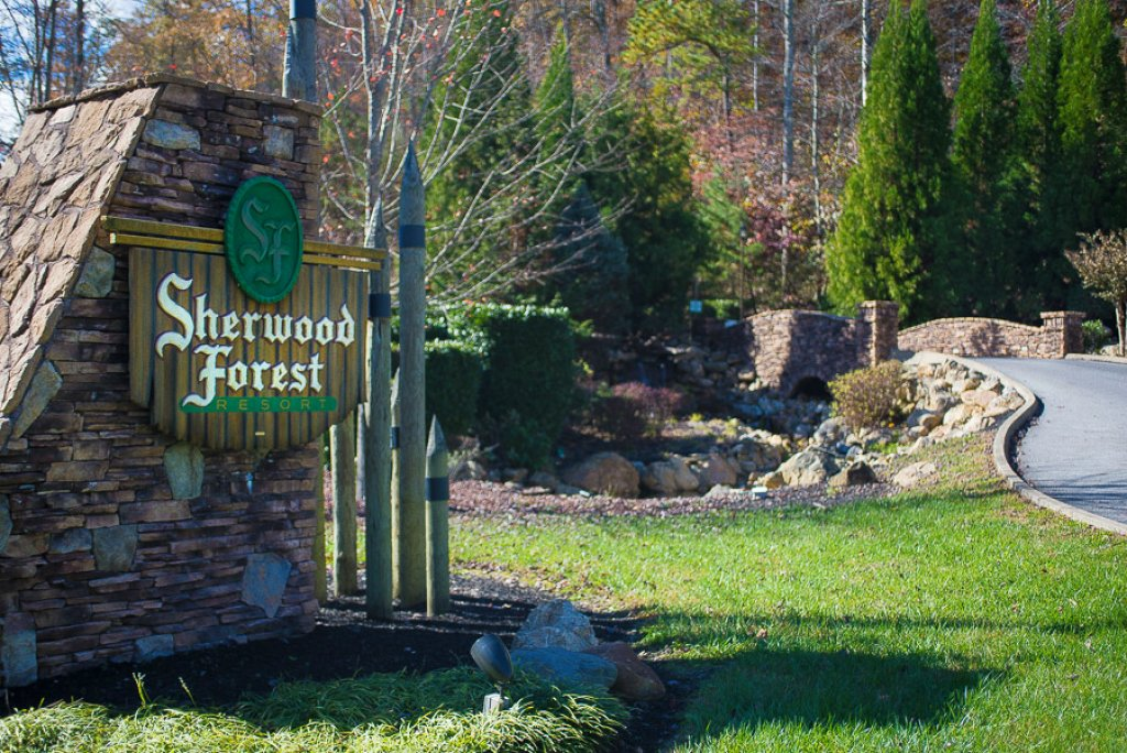 Photo of a Pigeon Forge Cabin named Cloud Nine At Sherwood Forest - This is the twenty-third photo in the set.