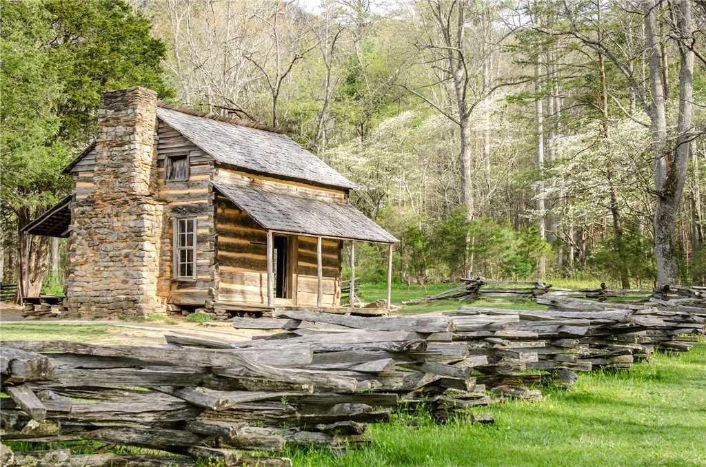 Photo of a Sevierville Cabin named Peaceful Mountain Gem - This is the fortieth photo in the set.