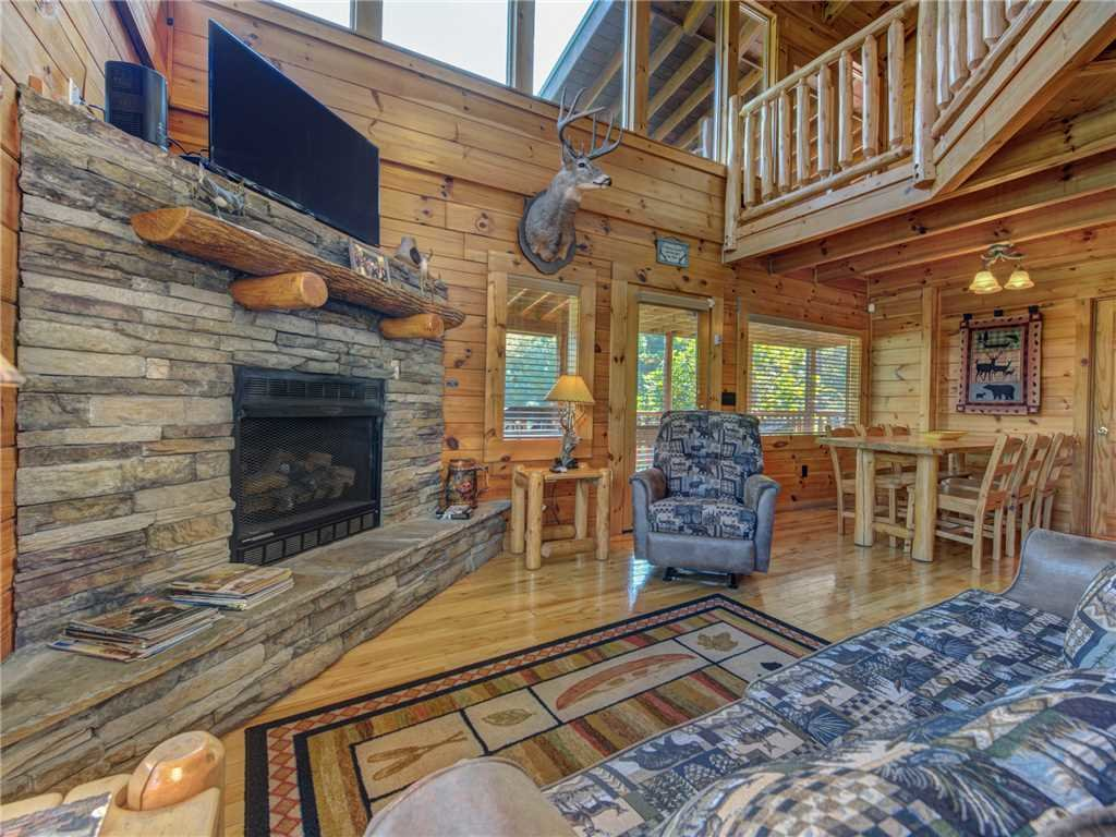 Photo of a Sevierville Cabin named Wilderness Lodge - This is the third photo in the set.