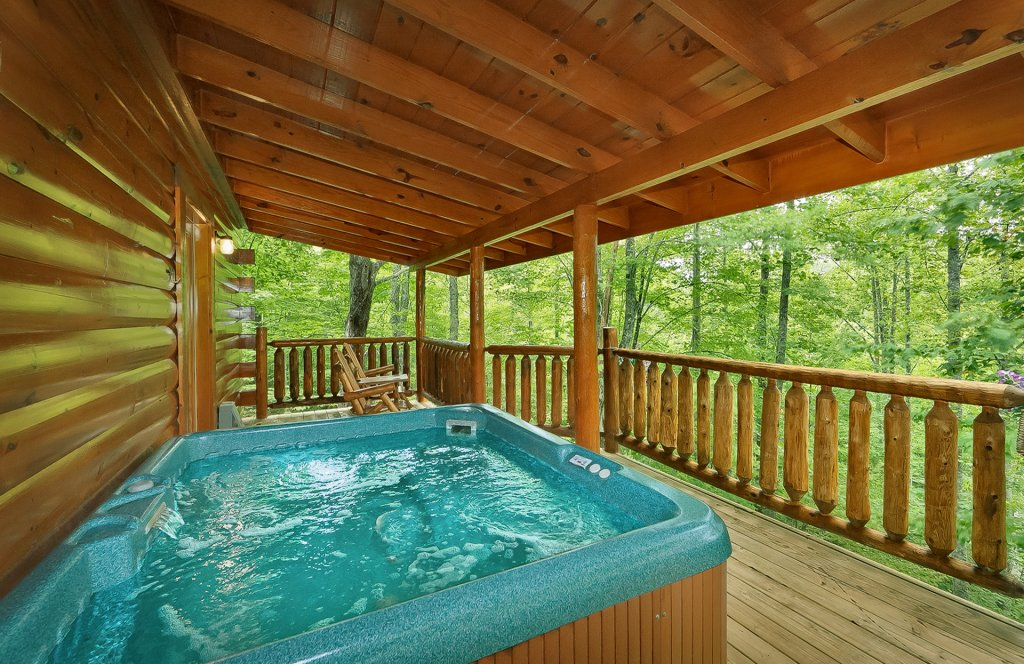Photo of a Gatlinburg Cabin named American Treehouse #1708 - This is the twenty-fourth photo in the set.