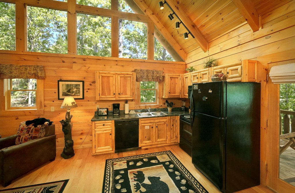 Photo of a Gatlinburg Cabin named American Treehouse #1708 - This is the thirty-second photo in the set.