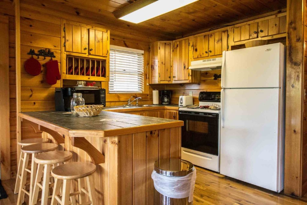 Photo of a Pigeon Forge Cabin named Kick Back Shack - This is the third photo in the set.