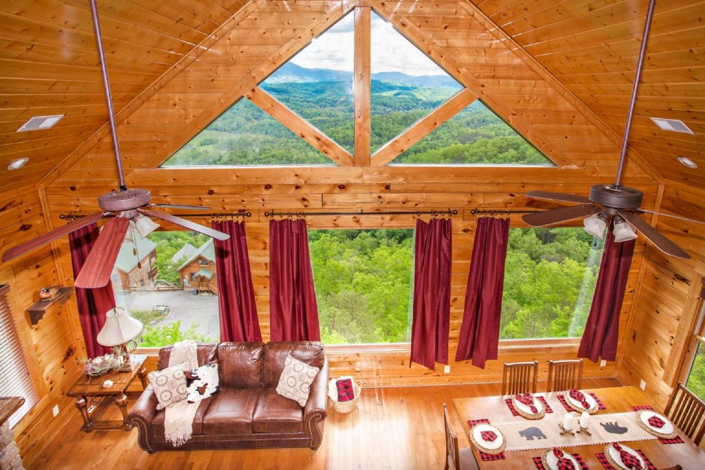 Photo of a Pigeon Forge Cabin named Best Of View - This is the eighth photo in the set.