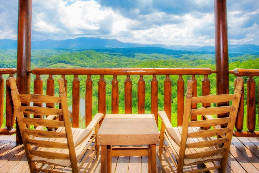Photo of a Pigeon Forge Cabin named Best Of View - This is the first photo in the set.