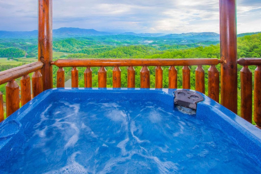Photo of a Pigeon Forge Cabin named Best Of View - This is the fifth photo in the set.