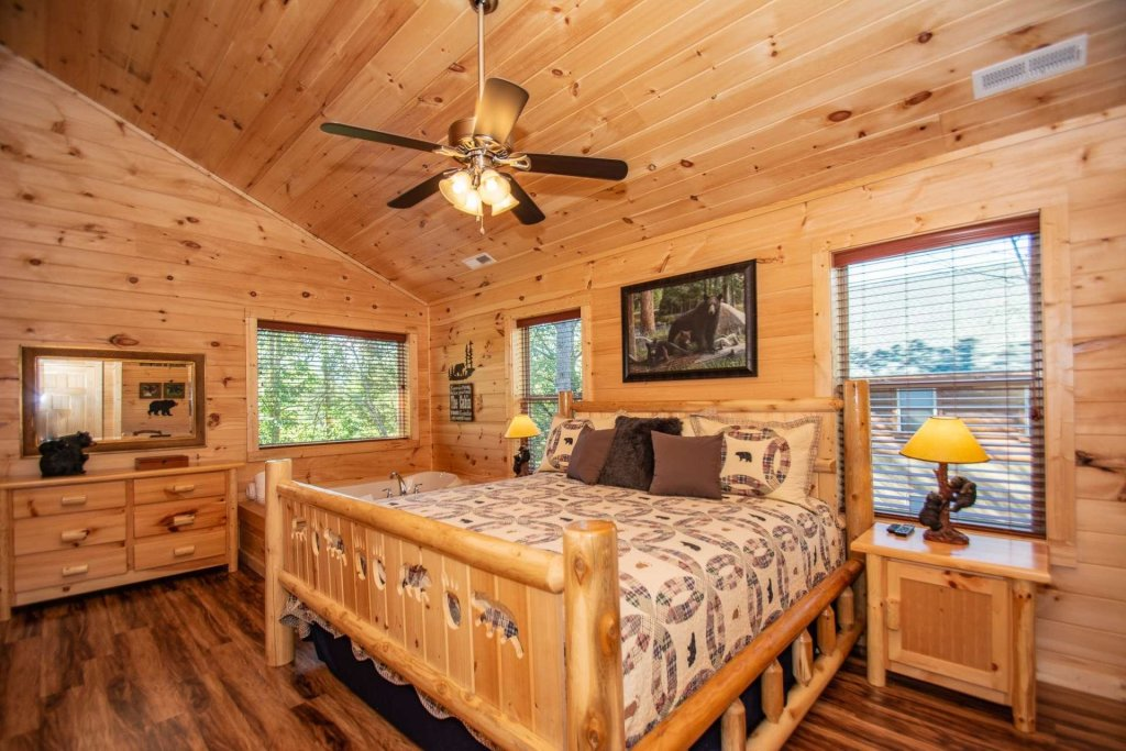 Photo of a Pigeon Forge Cabin named Tana-see - This is the twenty-eighth photo in the set.
