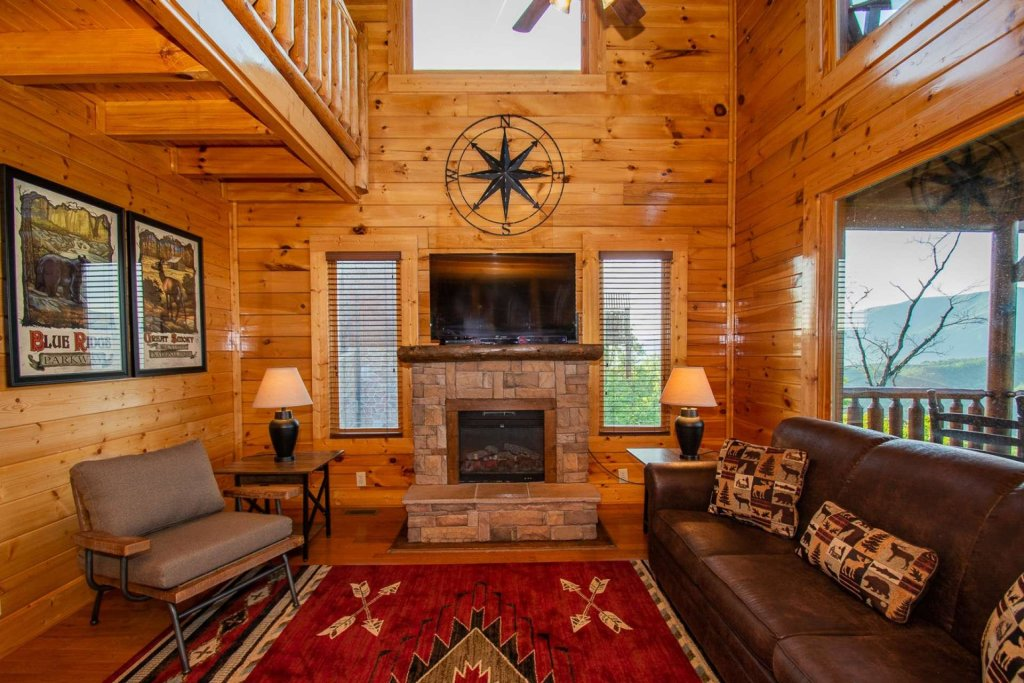 Photo of a Sevierville Cabin named Mountains Blessing - This is the eighth photo in the set.