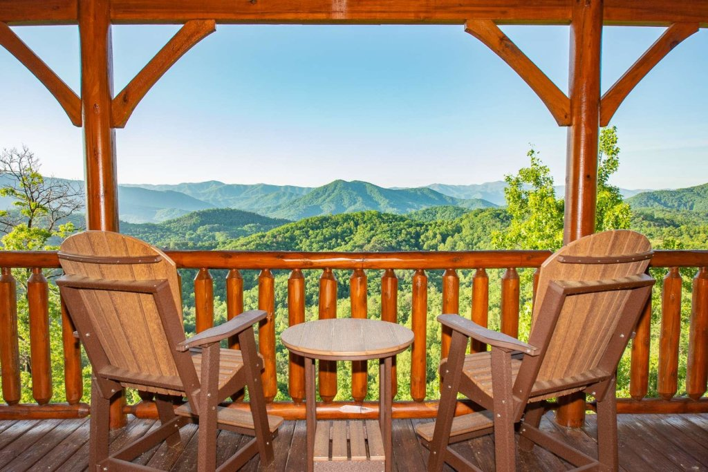 Photo of a Sevierville Cabin named Mountains Blessing - This is the first photo in the set.