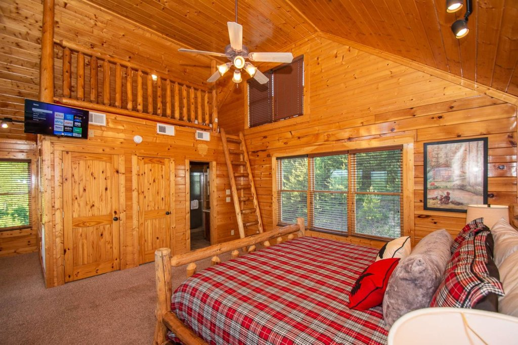 Photo of a Sevierville Cabin named Mountains Blessing - This is the eighteenth photo in the set.