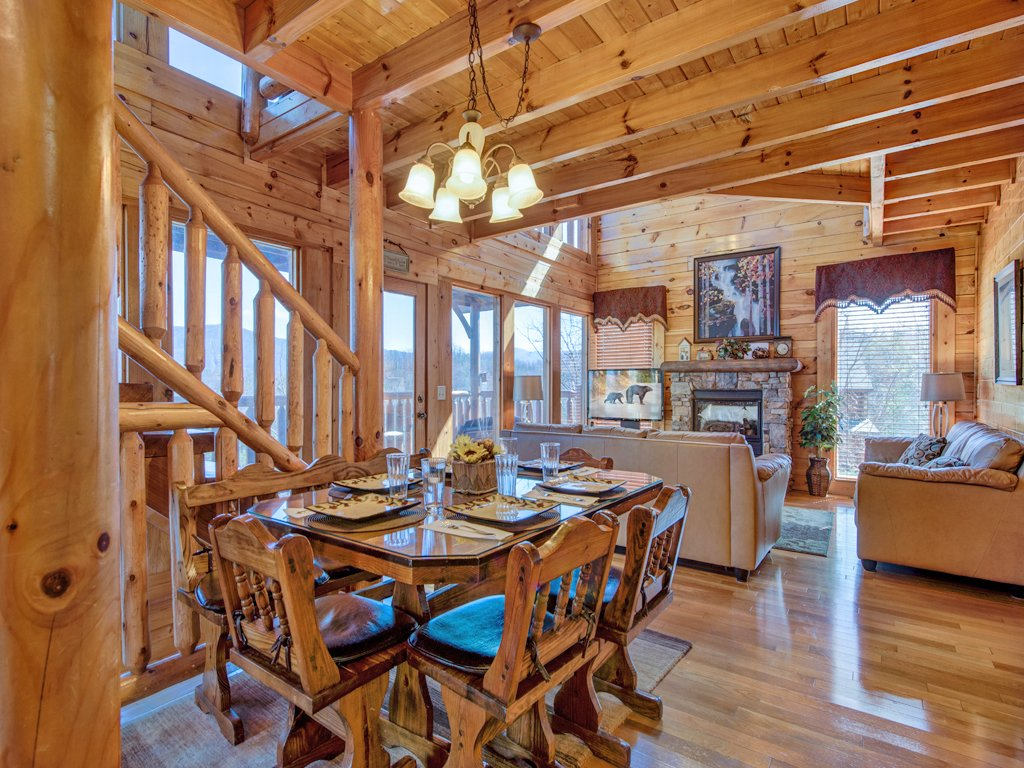 Photo of a Sevierville Cabin named Bella Yani - This is the sixth photo in the set.