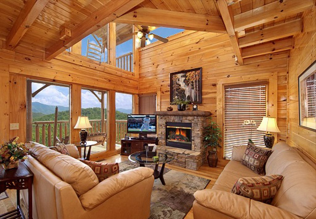Photo of a Sevierville Cabin named Bella Yani - This is the fourth photo in the set.