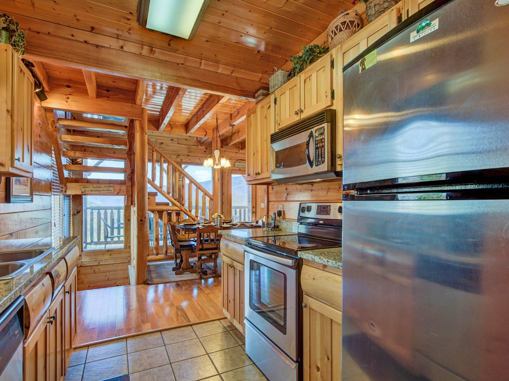 Photo of a Sevierville Cabin named Bella Yani - This is the ninth photo in the set.