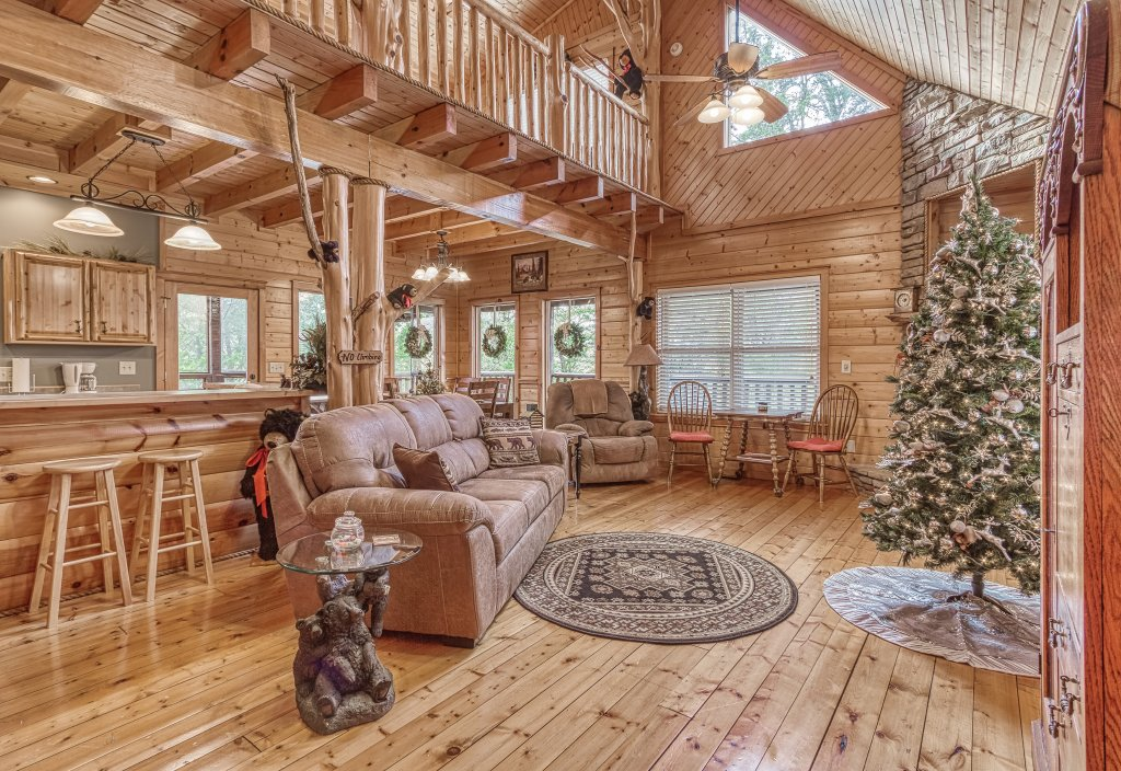 Photo of a Sevierville Cabin named Sugar Bear #268 - This is the tenth photo in the set.
