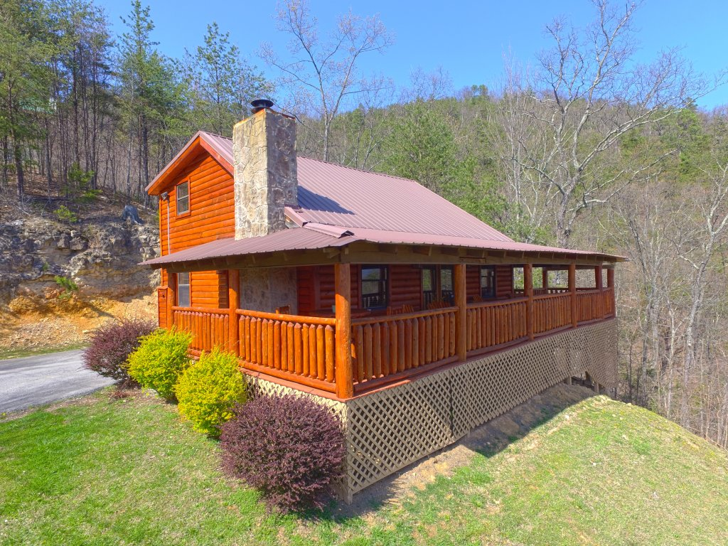 Photo of a Pigeon Forge Cabin named Grandpa Bear's View #233 - This is the tenth photo in the set.