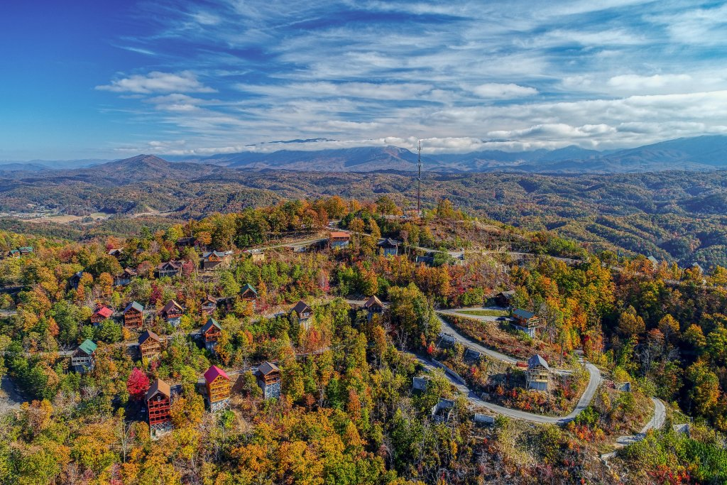 Photo of a Pigeon Forge Cabin named Morning View #131 - This is the seventeenth photo in the set.