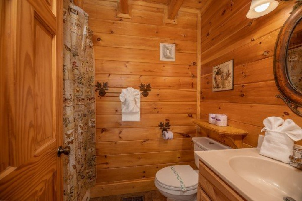 Photo of a Sevierville Cabin named Azalea Point - This is the twelfth photo in the set.