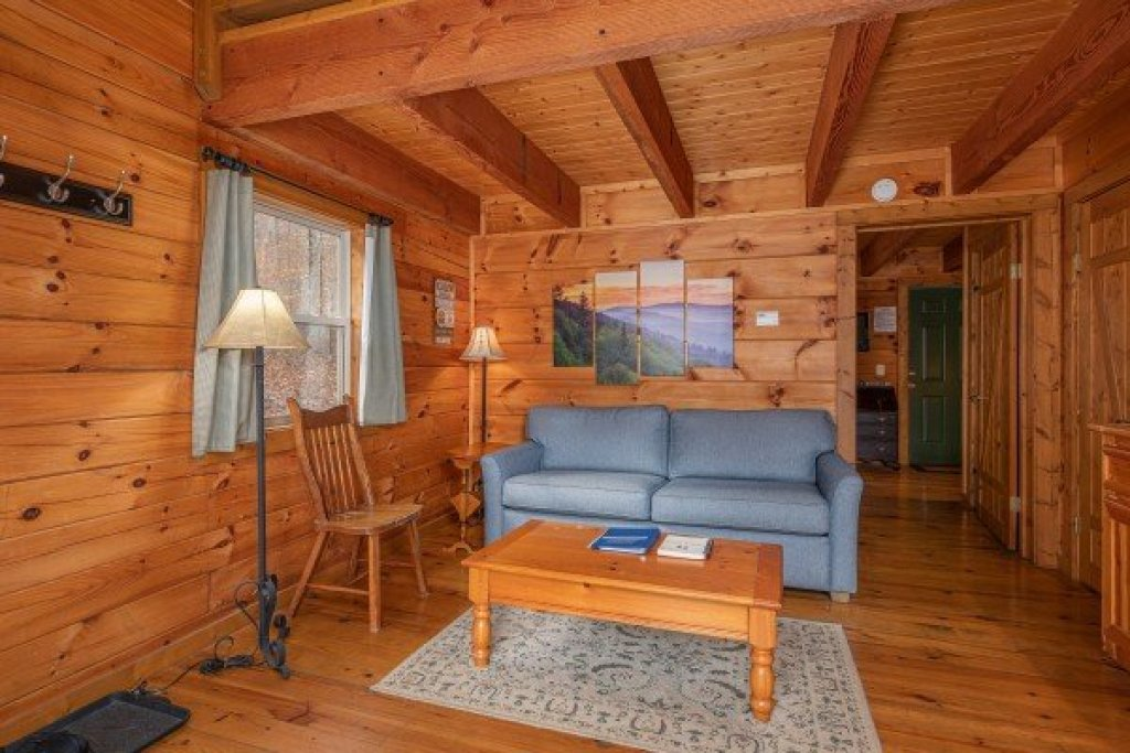 Photo of a Pigeon Forge Cabin named Licklog Hollow - This is the second photo in the set.