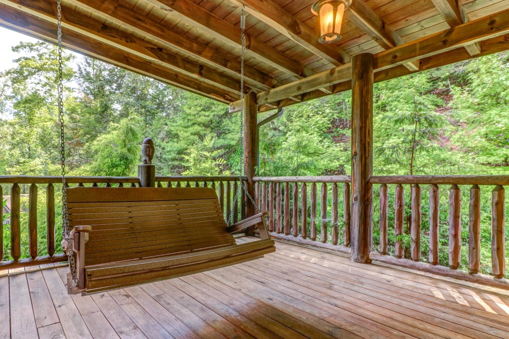 Photo of a Sevierville Cabin named Timberstone - This is the twenty-eighth photo in the set.