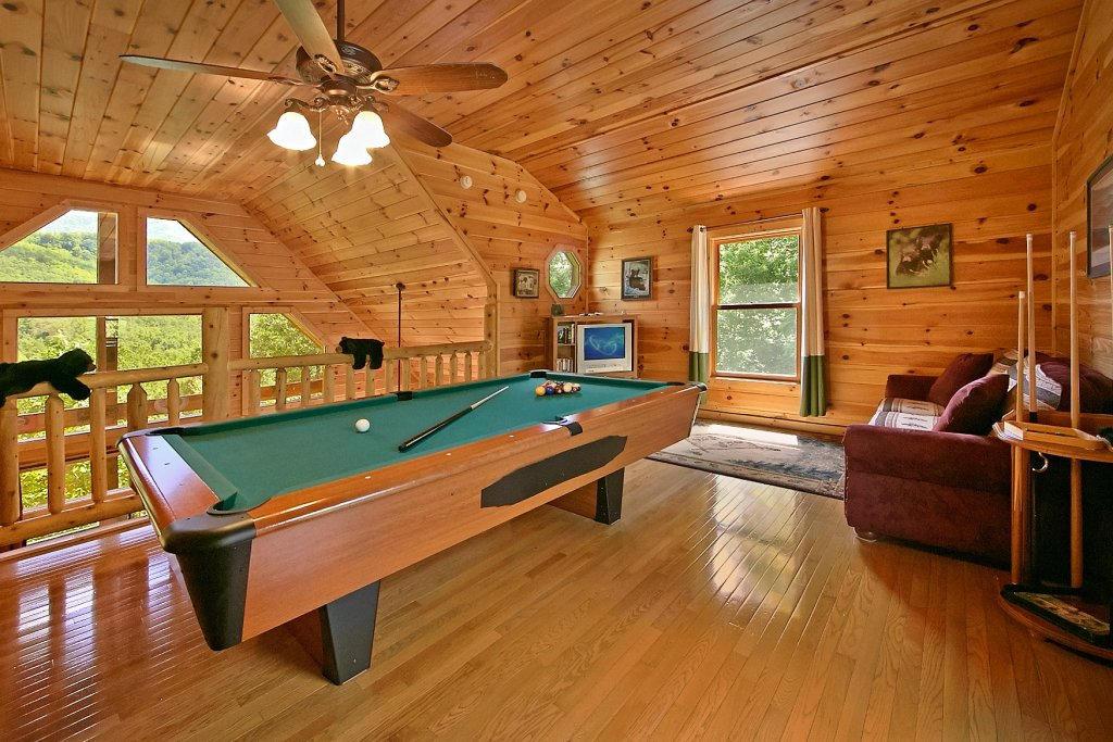 Photo of a Gatlinburg Cabin named Cajun Hideaway - This is the third photo in the set.