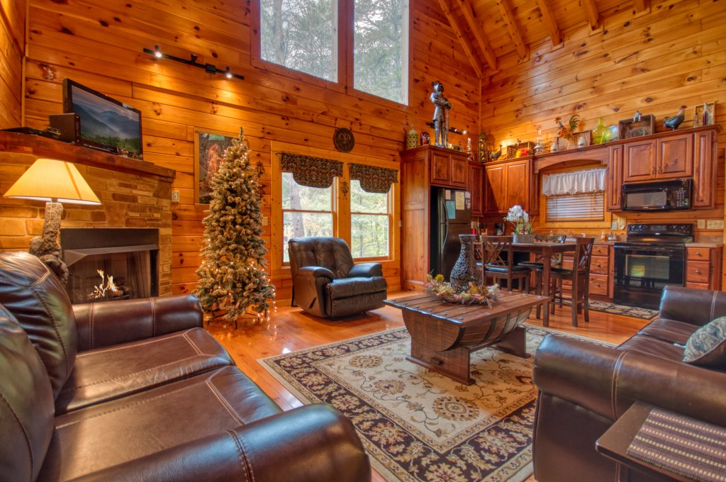 Photo of a Pigeon Forge Cabin named Camelot #266 - This is the third photo in the set.