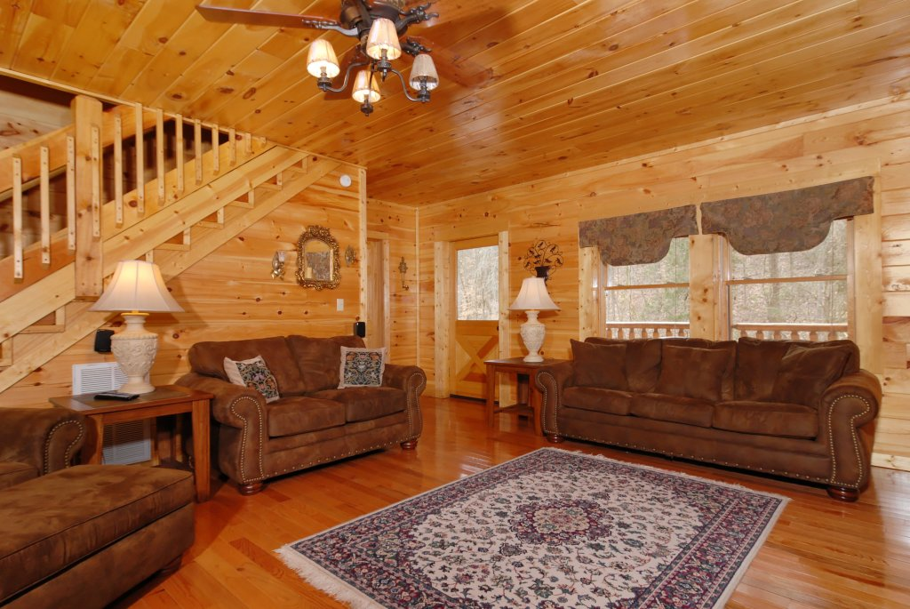 Photo of a Pigeon Forge Cabin named Camelot #266 - This is the thirtieth photo in the set.
