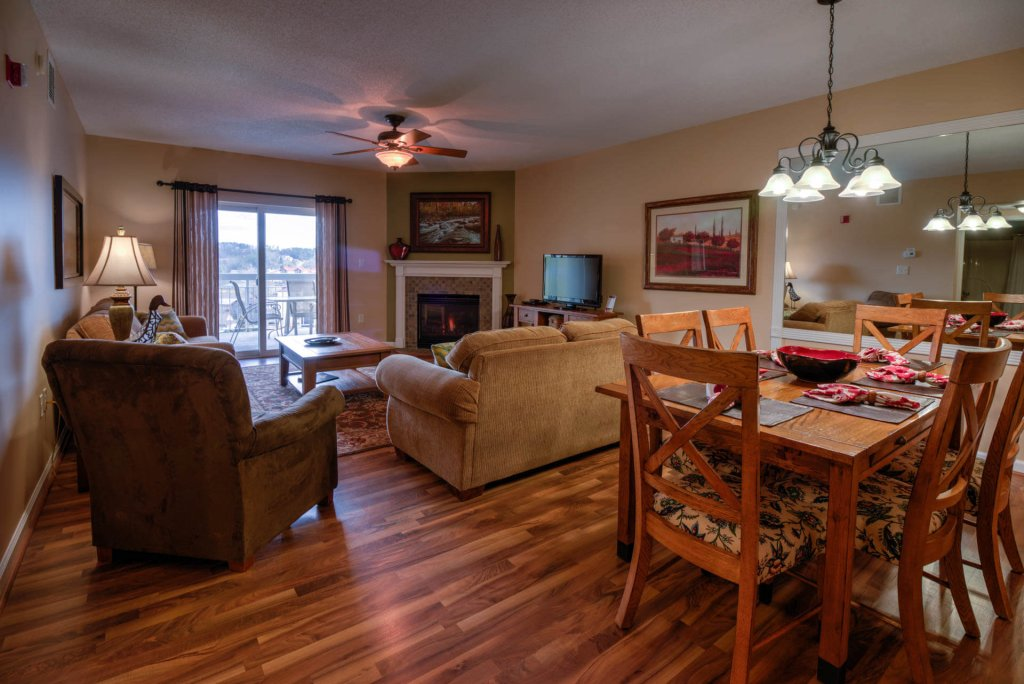 Photo of a Pigeon Forge Condo named Whispering Pines 224 - This is the third photo in the set.