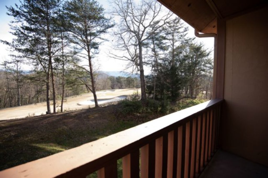 Photo of a Pigeon Forge Condo named 3212 Golf View Hillcrest The Veranda Unit - This is the twelfth photo in the set.