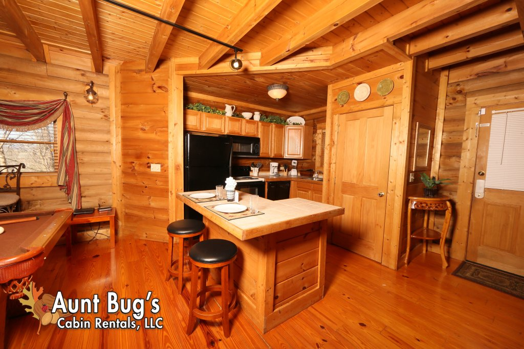 Photo of a Pigeon Forge Cabin named A Moonlight Ridge #162 - This is the twenty-second photo in the set.