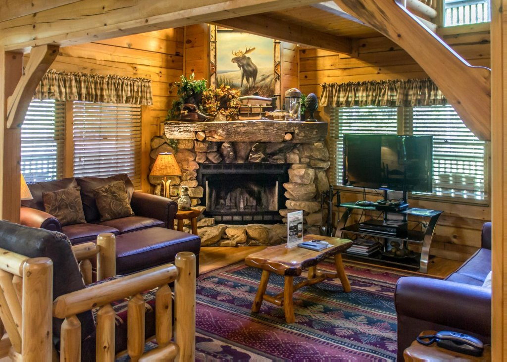 Photo of a Sevierville Cabin named Mountain Dreams #24 - This is the third photo in the set.