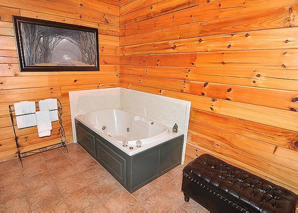 Photo of a Sevierville Cabin named She Thinks My Tractor's Sexy - This is the twelfth photo in the set.