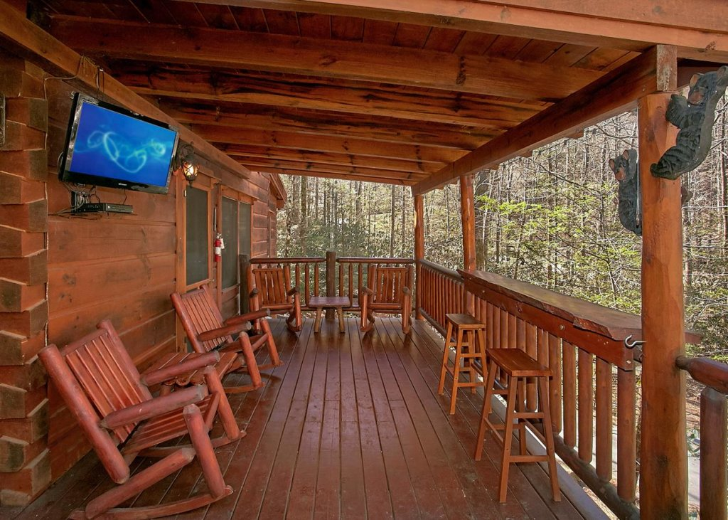 Photo of a Sevierville Cabin named Bear Paw Trail #15 - This is the second photo in the set.