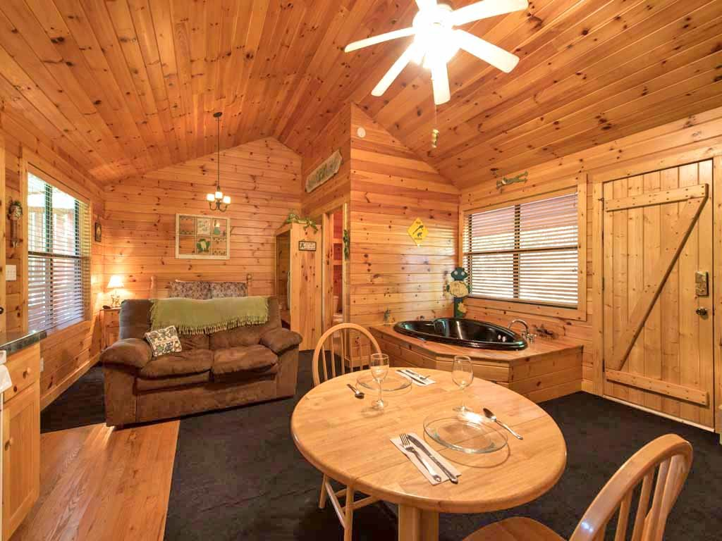 Photo of a Sevierville Cabin named Lily Pad - This is the third photo in the set.