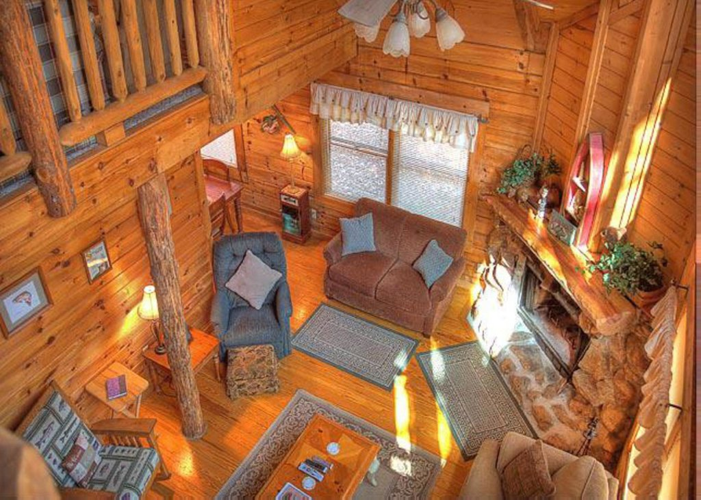 Photo of a Sevierville Cabin named Hook's Haven #2 - This is the sixth photo in the set.