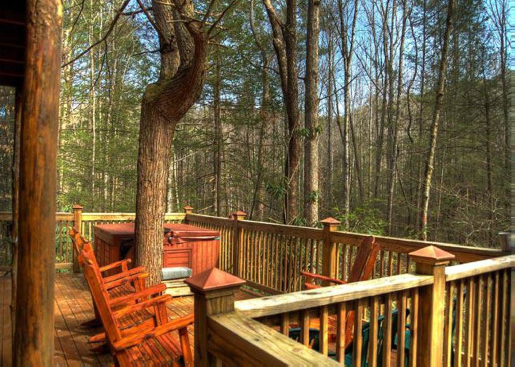 Photo of a Sevierville Cabin named Hook's Haven #2 - This is the twelfth photo in the set.