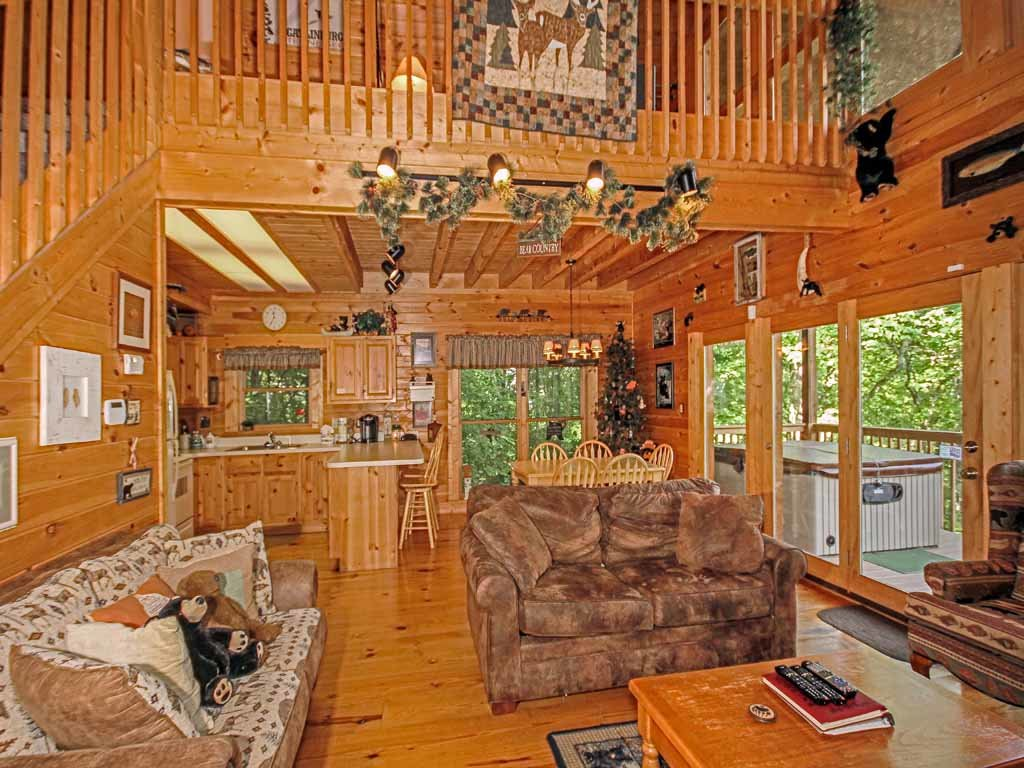 Photo of a Gatlinburg Cabin named Bear Country Cabin - This is the fifth photo in the set.