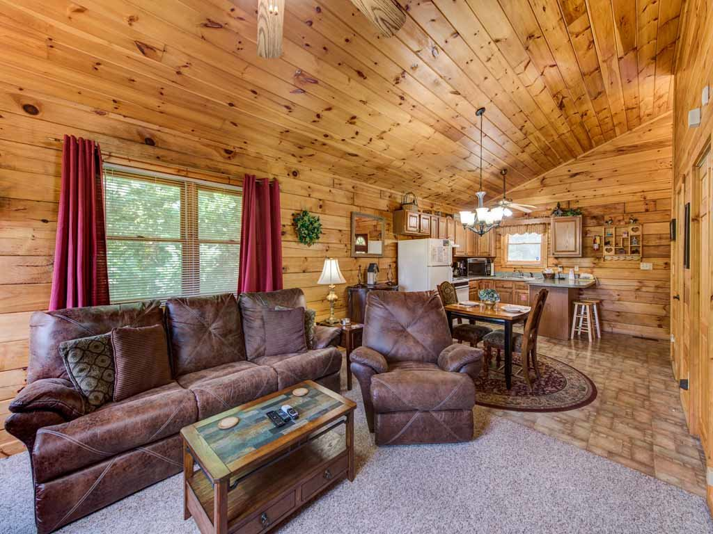 Photo of a Sevierville Cabin named Tender Moments - This is the fifth photo in the set.