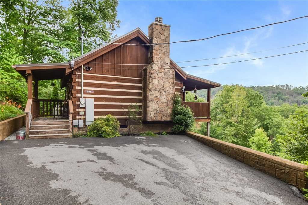 Photo of a Gatlinburg Cabin named Nestled Inn - This is the first photo in the set.