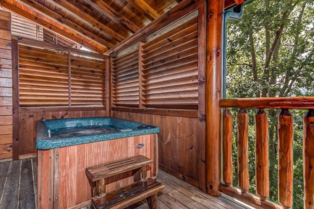 Photo of a Sevierville Cabin named Bearfoot Lodge - This is the sixteenth photo in the set.