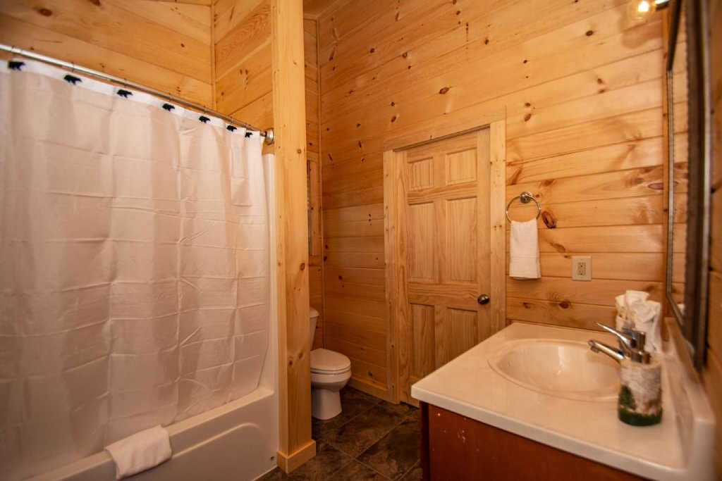 Photo of a Pigeon Forge Cabin named Tana-see - This is the twelfth photo in the set.