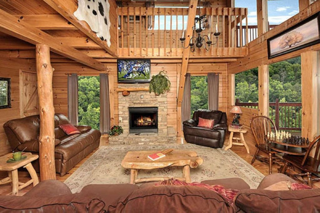 Photo of a Pigeon Forge Cabin named Sky's The Limit - This is the sixth photo in the set.
