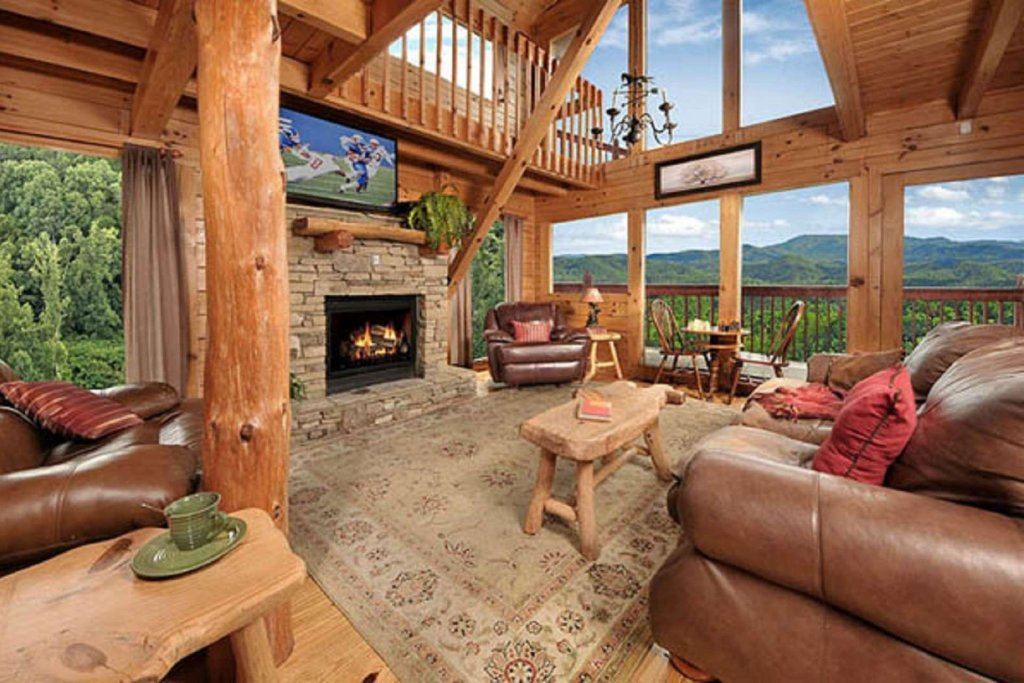 Photo of a Pigeon Forge Cabin named Sky's The Limit - This is the fourth photo in the set.