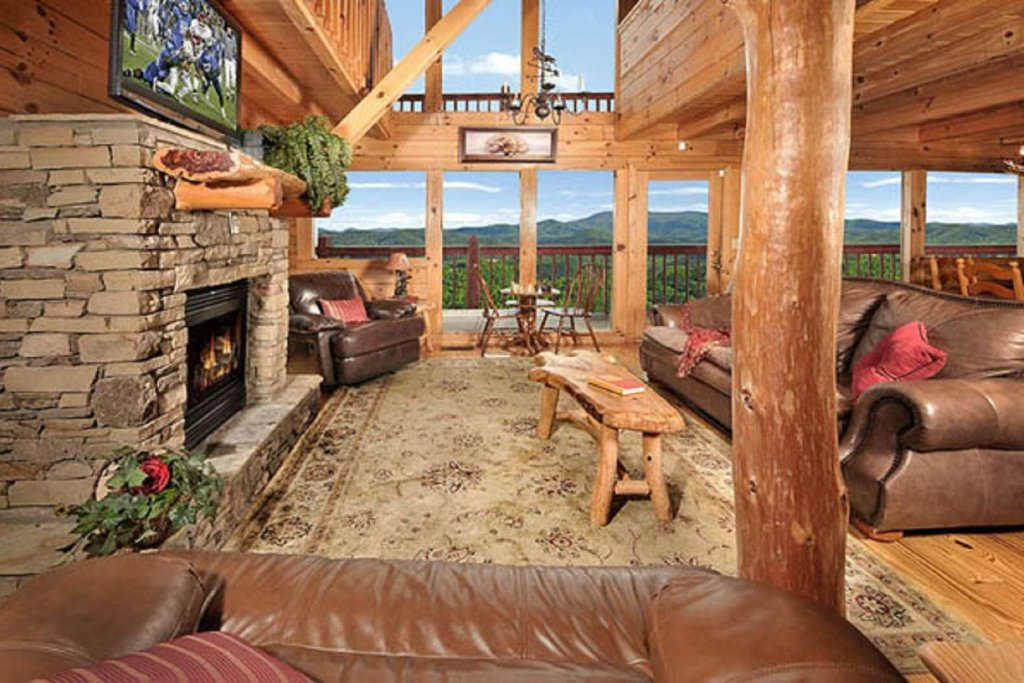 Photo of a Pigeon Forge Cabin named Sky's The Limit - This is the fifth photo in the set.