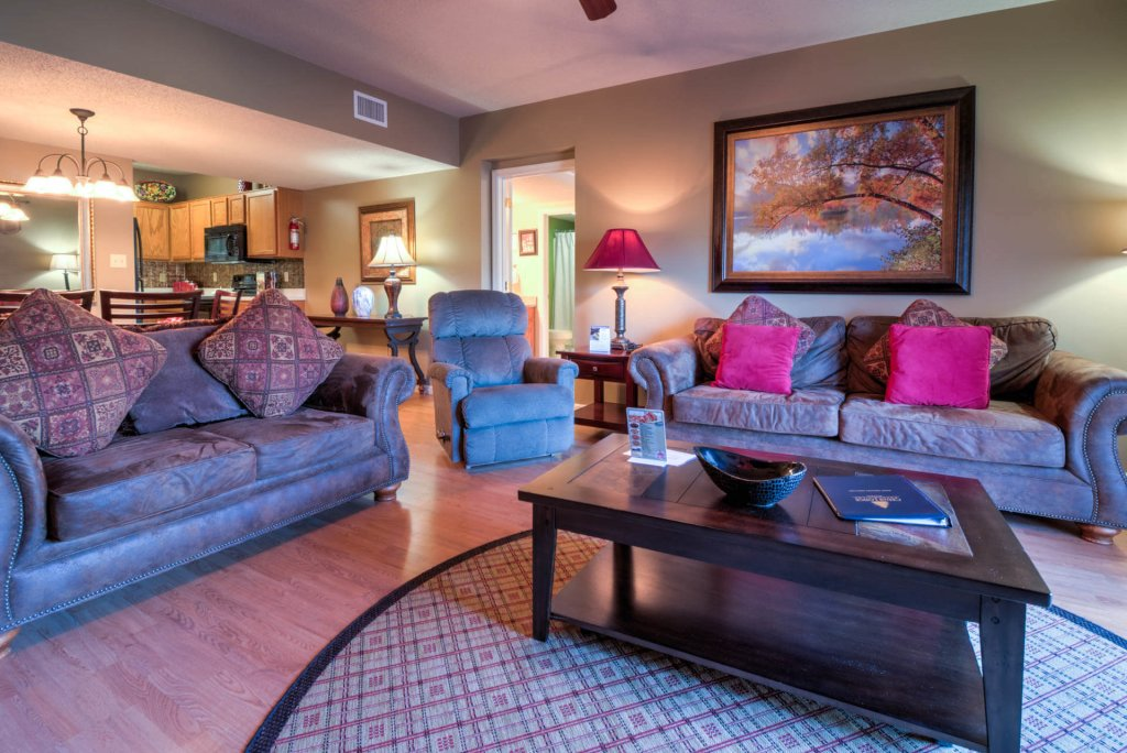 Photo of a Pigeon Forge Condo named Cedar Lodge 201 - This is the third photo in the set.