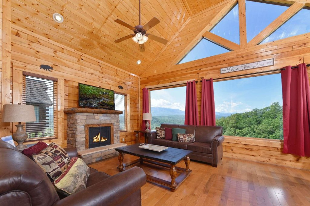 Photo of a Pigeon Forge Cabin named April Mist - This is the fourth photo in the set.