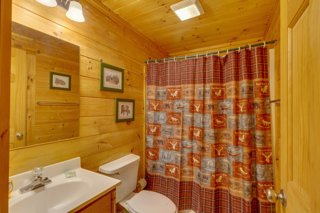 Photo of a Pigeon Forge Cabin named Moose Creek Lodge - This is the seventeenth photo in the set.