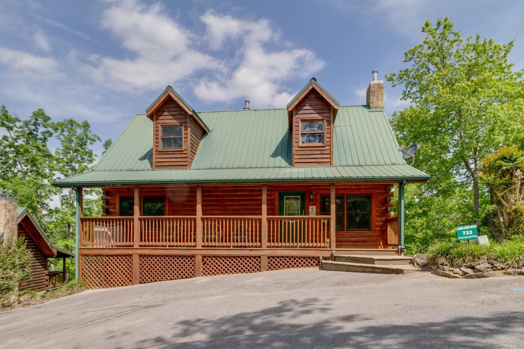 Photo of a Pigeon Forge Cabin named Moose Creek Lodge - This is the forty-ninth photo in the set.
