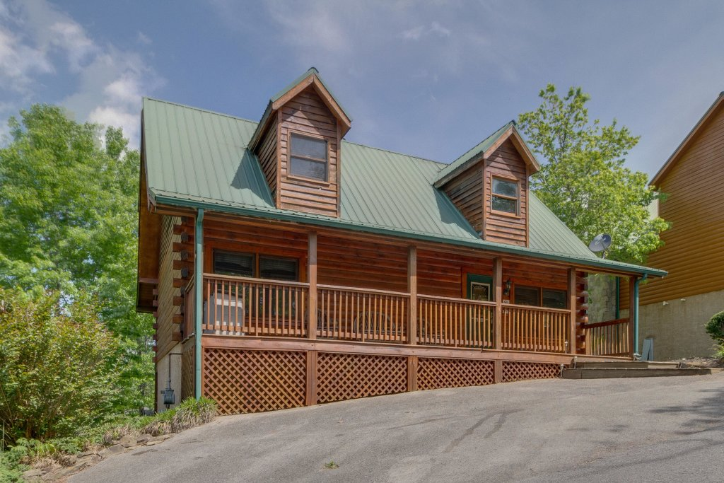 Photo of a Pigeon Forge Cabin named Moose Creek Lodge - This is the forty-eighth photo in the set.