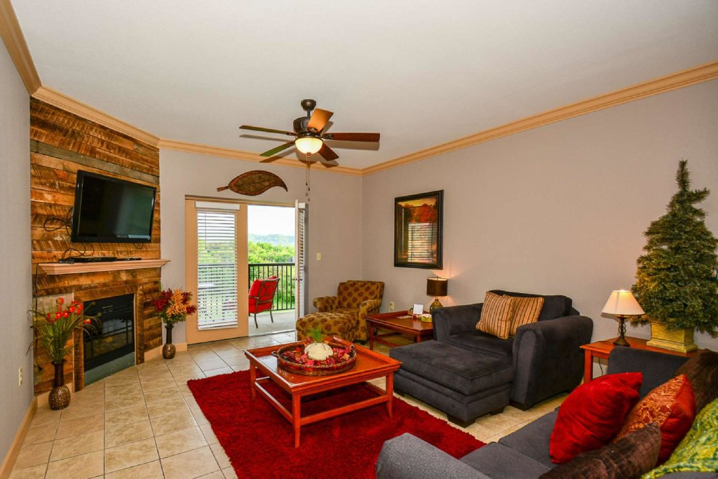 Photo of a Pigeon Forge Cabin named Mountain View Condo #3505 - This is the first photo in the set.