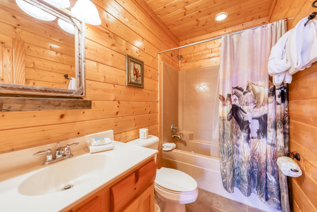 Photo of a Sevierville Cabin named Black Bear Manor - This is the forty-first photo in the set.